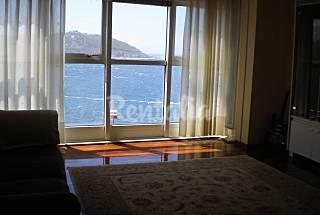 Apartamento de 3 habitaciones en 1a línea de mar A Coruña/La Coruña