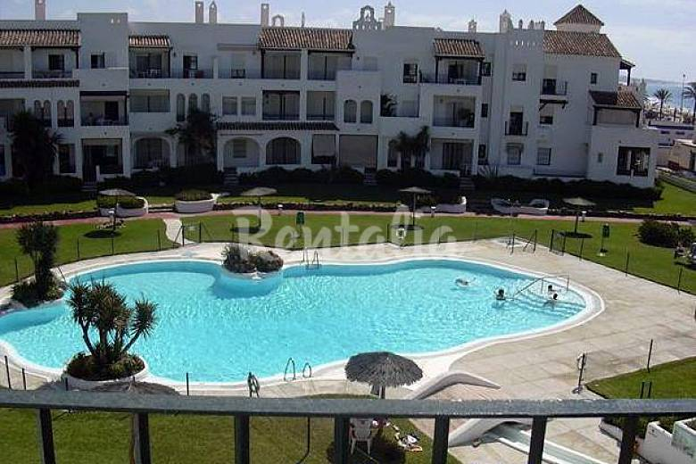 1 l nea playa la barrosa piscina parking barrosa la for Piscinas chiclana