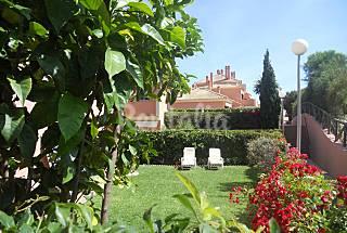 Apartamento de 2 habitaciones. Jardín privado 100 m2 Huelva