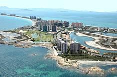 Apartamento para1-6 personas en 1a línea de playa Murcia
