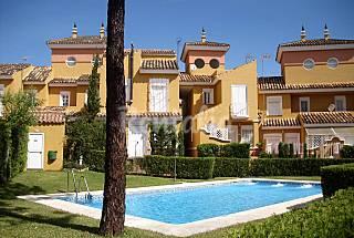 Casa germinada perto da praia e do clube de golfe Huelva