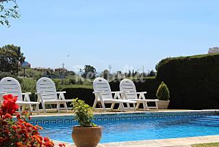 Villa con piscina privada cerca de la playa Málaga
