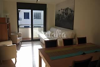 Apartamento 4-6 plazas, a 50 m de la playa. Girona/Gerona