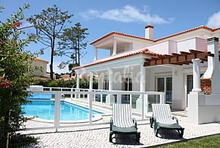 Villa per 8-10 persone con piscina Leiria