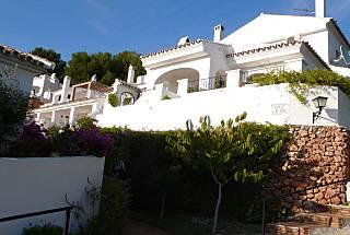 Nice house with gard & overlooking the bay ofNerja Málaga