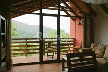 4 Terraza Asturias Cangas de Onís Casa en entorno rural