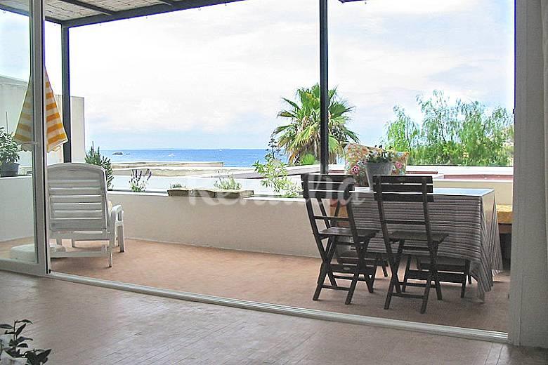 Ibiza tranquilidad vistas del mar roca - Roca llisa ibiza ...