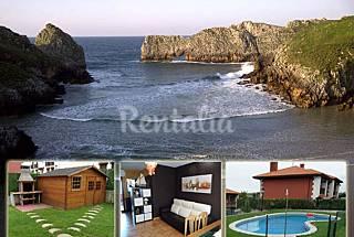 Appartement de 2 chambres à 1000 m de la plage Cantabrie