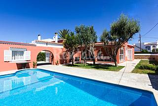 Villa for rent only 300 meters from the beach Minorca