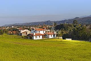 4 Hause zur Vermietung, 1500 Meter bis zum Strand Asturien