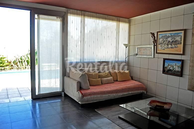 Villa Innenansicht des Hauses Alicante El Campello villa