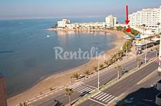 Casa para 6 personas en 1a línea de playa Murcia
