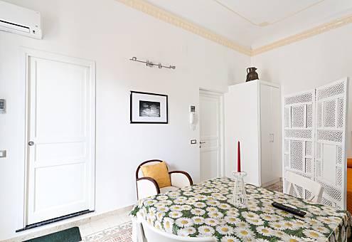 Apartamento com 1 quarto a 500 m da praia Trapani