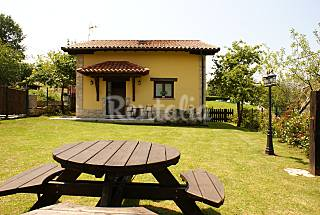 House with 2 bedrooms with private garden Asturias