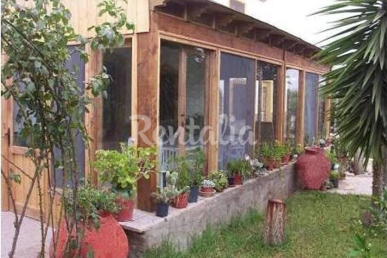 Bonita casa rural con piscina y jard n la murta murcia for Jardin de la polvora murcia