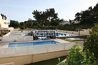 Apartamento( Mar/Azul)com  vista para a Praia /Rio Setúbal