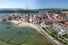 Piso de 3 habitaciones en 1a línea de playa Pontevedra