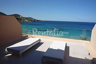 Modern appartment front line on the beach Ibiza