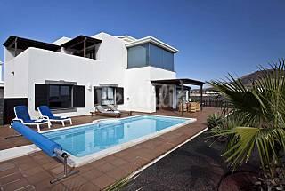 Villa en alquiler con piscina y wifi Lanzarote