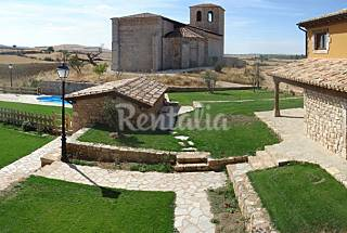 7 country houses for rent with swimming pool Burgos