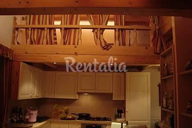 Apartment Kitchen Trentino Canazei Apartment