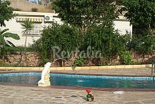 Casa de 2 habitaciones a 1500 m de la playa Almería