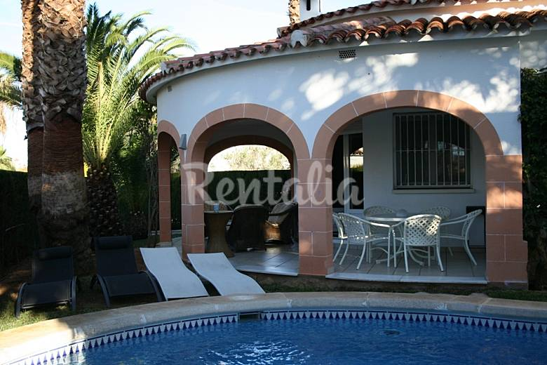 House for 6-7 people only 400 meters from the beach Valencia