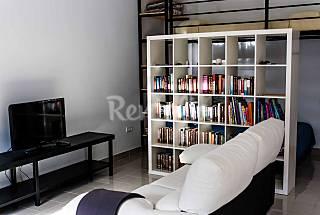 Apartamento  para 2-4 personas a 50 m de la playa. Málaga