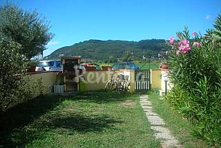 House with garden and barbecue near the sea La Spezia