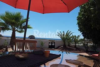 Villa exclusiva a 20 m de la playa para 4-6 personas Fuerteventura