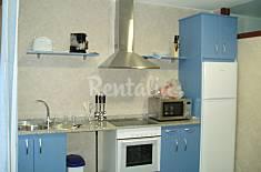 3 apartamentos para 2-12 personas a 80 m de la playa Pontevedra