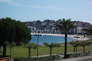 Apartamento com 1 quarto em frente à praia Pontevedra
