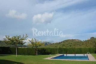 Casa con Piscina a 1km de la Playa de Tamariu Girona/Gerona