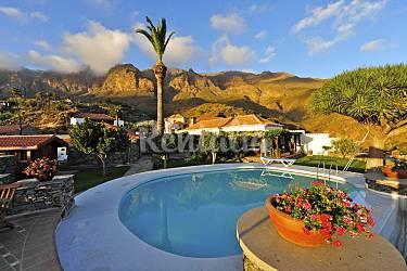 4 casas rurales para 2 16 personas con piscina lomito de taidia san bartolom de tirajana - Casas rurales en gran canaria con piscina privada ...