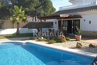 Villa for rent only 1000 meters from the beach Huelva