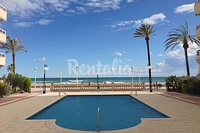Apartamento para 5 pers. en 1ª línea de playa - HUTT-007305 Tarragona