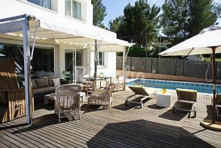 House for rent 1 km from the beach Ibiza
