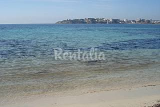 Apartment for rent on the beach front line Majorca