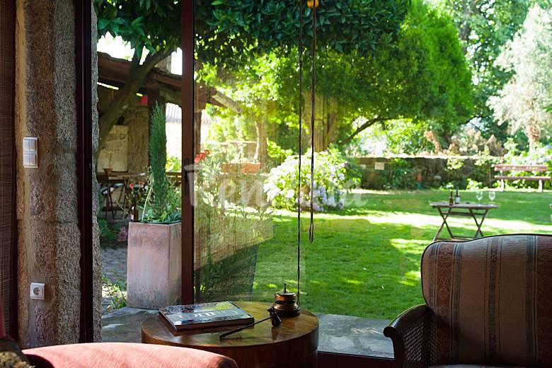 Casa in affitto con giardino privato fataun os vouzela viseu strada dei vini del d o - Affitto casa con giardino ...