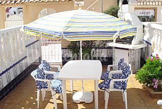 100m playa, barbacoa, WiFi y TV Satelite Alicante