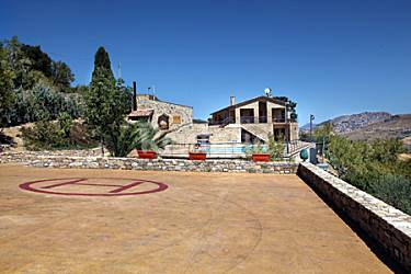 Villa Exterior del aloj. Palermo Gangi Villa en entorno rural