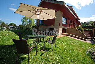 House for rent with private garden Asturias