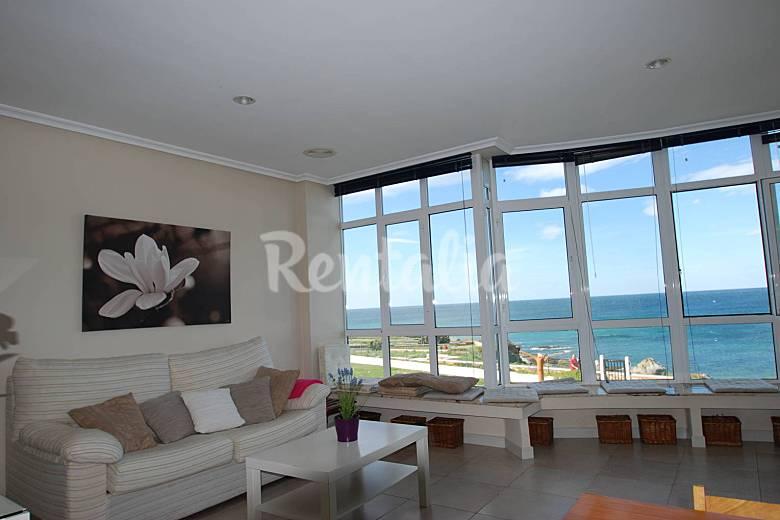 Apartamento de 2 habs. en 1u00aa linea de playa - San Cosme de Barreiros ...