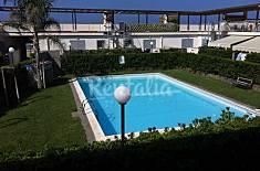 Appartamento con giardino e piscina fronte mare Roma