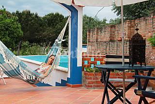 Casa para alquilar con piscina