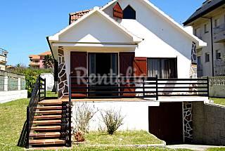 Casa com 6 quartos em frente à praia Pontevedra
