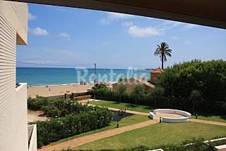 Apartamento en primera línea de playa para 6 pers. Alicante