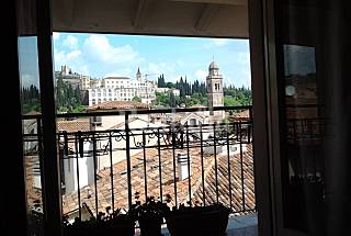 Apartamento de 1 habitación con vistas a la montaña Verona