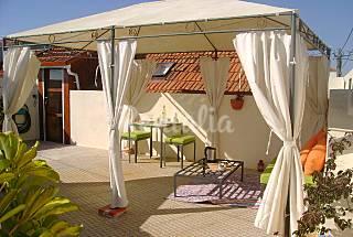 Apartamento com terraço privado a 5 km da praia Aveiro