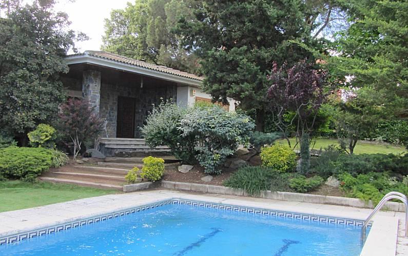 Villa For Rent With Swimming Pool Sant Antoni De Vilamajor Barcelona